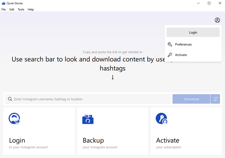 Click login button